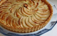 طريقة تحضير فطيرة التفاح قليلة الدسم
