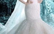 اجمل عشر فساتين زفاف