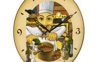 ساعات مميزة لمطبخ انيق