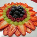فراولة وعنب