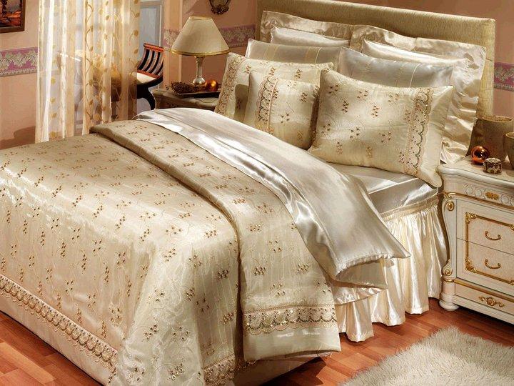 مفرش سرير ليله الدخله