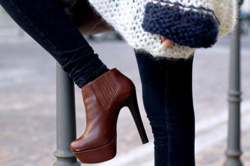 احذية شتاء 2013
