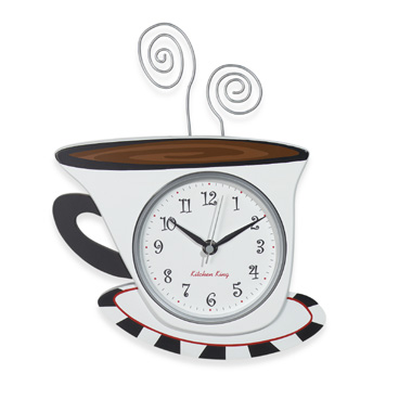ساعات مطبخ بتصاميم جميلة