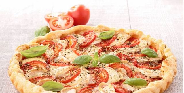 طريقة اعداد تارت الطماطم